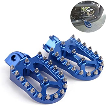 AnXin Foot Pegs Footpegs Footrests Foot Pedals Rests CNC MX For Husqvarna TC TE FC FE FS 65 85 125 250 300 450 501 KTM SX SXS XC EXC MXC XCW SMR FREERIDE SMC ADVENTURE DUKE ENDURO SUPERMOTO RALLYE