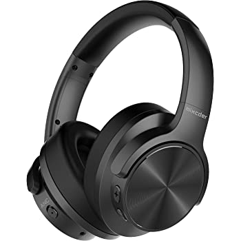 Amazon Com Mixcder E9 Active Noise Cancelling Headphones Wireless Bluetooth 5 0 2020 Upgraded Foldable Over Ear Headset With Quick Charge 35h Playtime Black Electronics