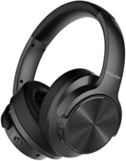 Active Noise Cancelling Headphones, Mixcder E9 Wireless Blue