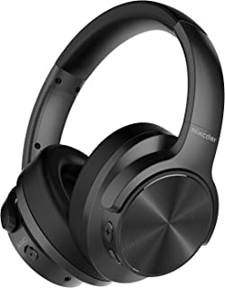 Mixcder E9 Casque Bluetooth à Réduction de Bruit Active Circum Écouteurs ANC sans Fil Stéréo avec Basses Profondes (Dual P...