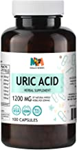 Uric Acid Cleanse 100 Capsules, 1200 mg per Serving (Tart Cherry, Chanca Piedra, Hydrangea, Turmeric, Dandelion, Milk Thistle, Celery)