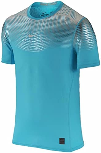 Nike T-Shirt pour Homme Manches Courtes Hypercool Max