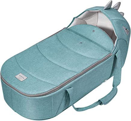 YANGGUANGBAOBEI Baby Lounger Breathable And Hypoallergenic Toddler Newborn Co-Sleeping Lounger Bed Breathable Foam Nest For Newborn And Babies Blue