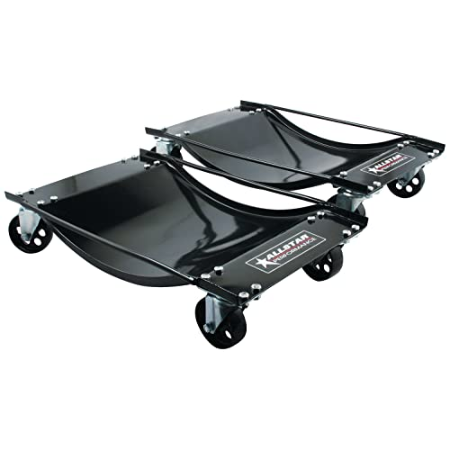 1,000 lb capacity per Dolly Performance Tool W54013 Tire Skates 2 Tire Wheel Car Dolly Ball Bearings Skate Wilmar Corporation