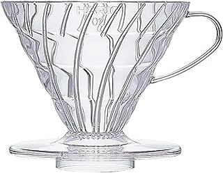 Hario V60 Plastic Coffee Dripper, Size 02, Clear