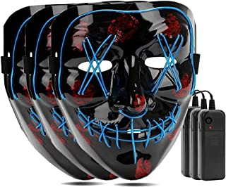 light blue masquerade mask