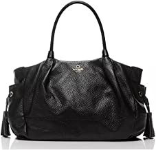 Kate Spade New York Womens Leather Southport Avenue Stevie, Black, One Size