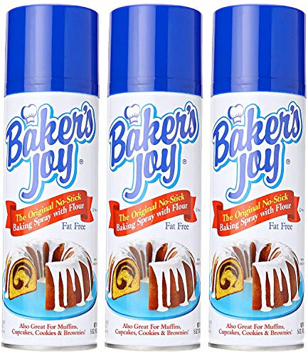 Baker's Joy The Original No-Stick Baking Spray 5 Ounce (3)