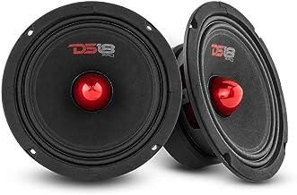 "$63 » DS18 2X PRO-GM6.4B Loudspeaker - 6.5"", Midrange, Red Aluminum Bullet, 480W Max, 4 Ohms,1.5"" Kapton VC Premium Quality Audi..."