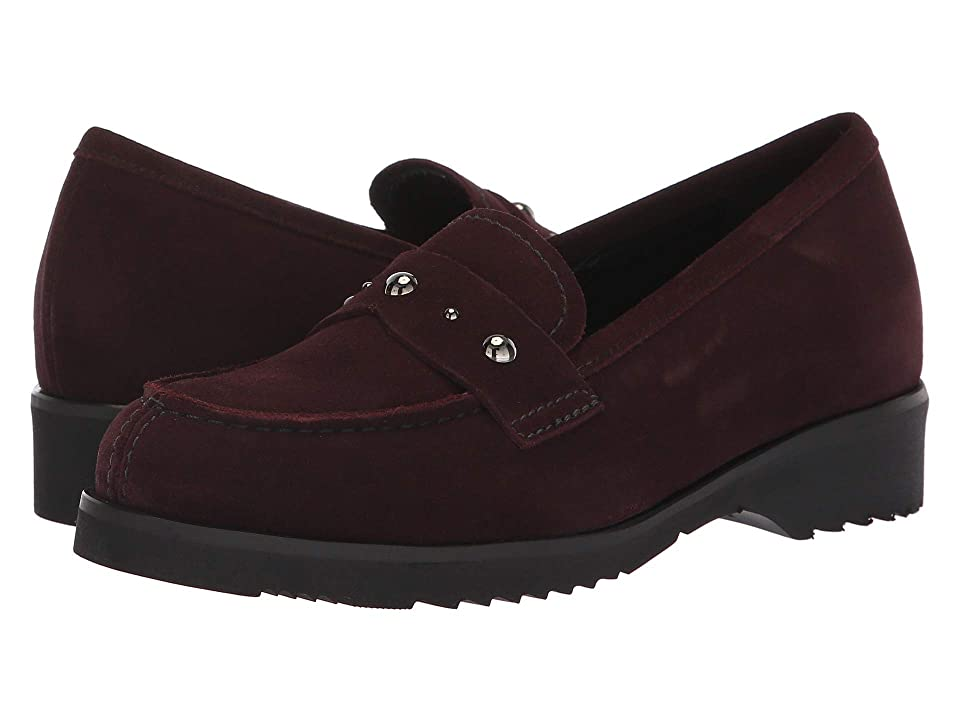 La Canadienne Hatty (Bordeaux Suede) Women