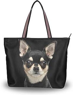My Daily Damen Schultertasche Chihuahua Hund Handtasche