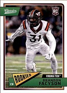 Football NFL 2018 Panini Classics #274 Brandon Facyson Rookie