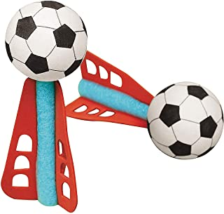 Fun Express - Mini Foam Soccer Missile (2dz) - Toys - Vehicles - Missiles & Launchers - 24 Pieces