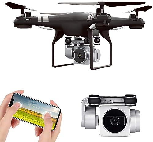 Con precio barato para obtener la mejor marca. Htfrgeds Drone, Drone sin Escobilla con Cámara 1080P HD, HD, HD, 5MP,2.4 GHz,FPV Avión Función Sígueme, Plantear Ruta, 180o Gran Angular, rojoación por Punto de Interés, Altitude Hold  bienvenido a comprar