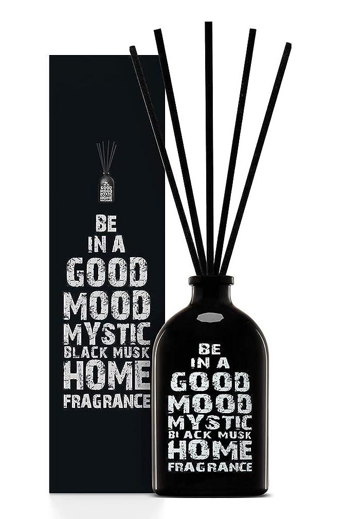 刺します朝ごはん準拠BE IN A GOOD MOOD ルームフレグランス スティック タイプ BLACK MUSKの香り (100ml)