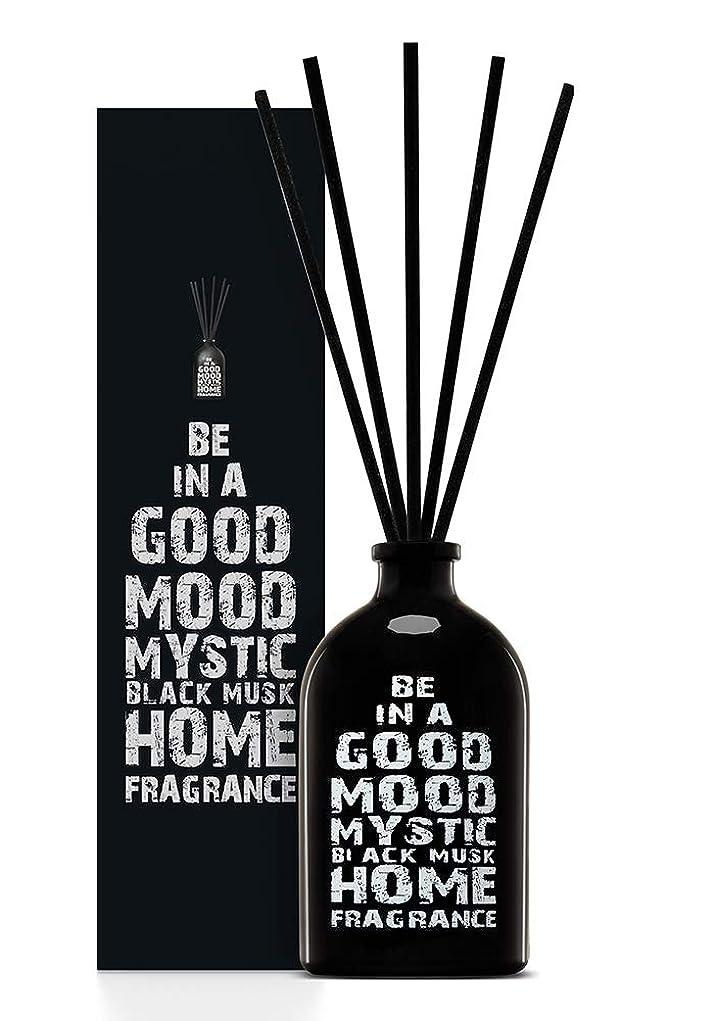 見かけ上終了しました成り立つBE IN A GOOD MOOD ルームフレグランス スティック タイプ BLACK MUSKの香り (100ml)