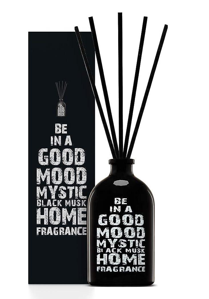 時間厳守エスニック助手BE IN A GOOD MOOD ルームフレグランス スティック タイプ BLACK MUSKの香り (100ml)