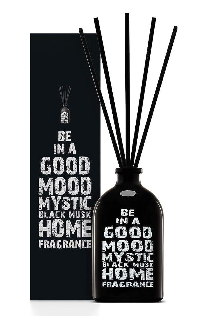 後退する浴室母BE IN A GOOD MOOD ルームフレグランス スティック タイプ BLACK MUSKの香り (100ml)