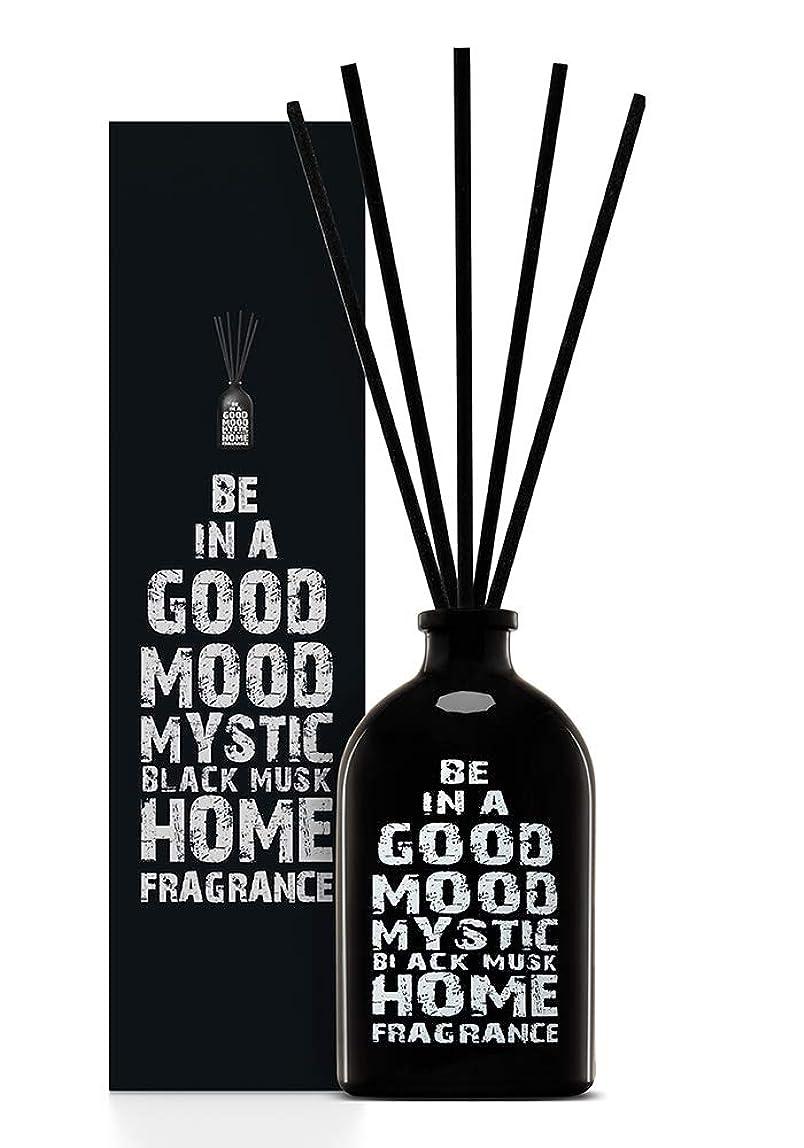 防水空洞枯れるBE IN A GOOD MOOD ルームフレグランス スティック タイプ BLACK MUSKの香り (100ml)