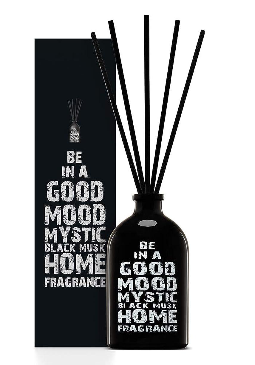 受ける浸食モンクBE IN A GOOD MOOD ルームフレグランス スティック タイプ BLACK MUSKの香り (100ml)