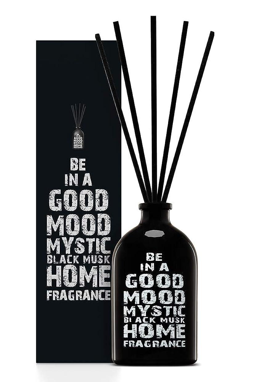 店員ふさわしいポーチBE IN A GOOD MOOD ルームフレグランス スティック タイプ BLACK MUSKの香り (100ml)