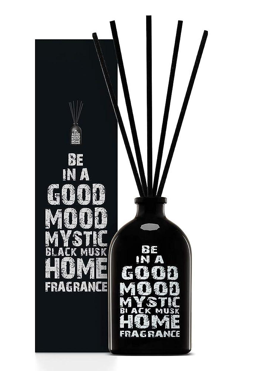ヒープ来てデンマーク語BE IN A GOOD MOOD ルームフレグランス スティック タイプ BLACK MUSKの香り (100ml)