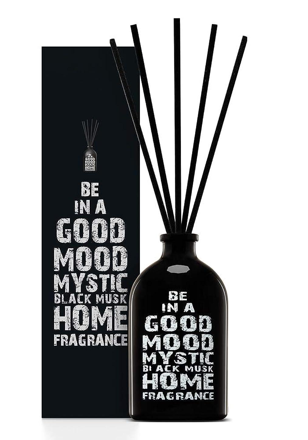 アルバニーめるラッドヤードキップリングBE IN A GOOD MOOD ルームフレグランス スティック タイプ BLACK MUSKの香り (100ml)