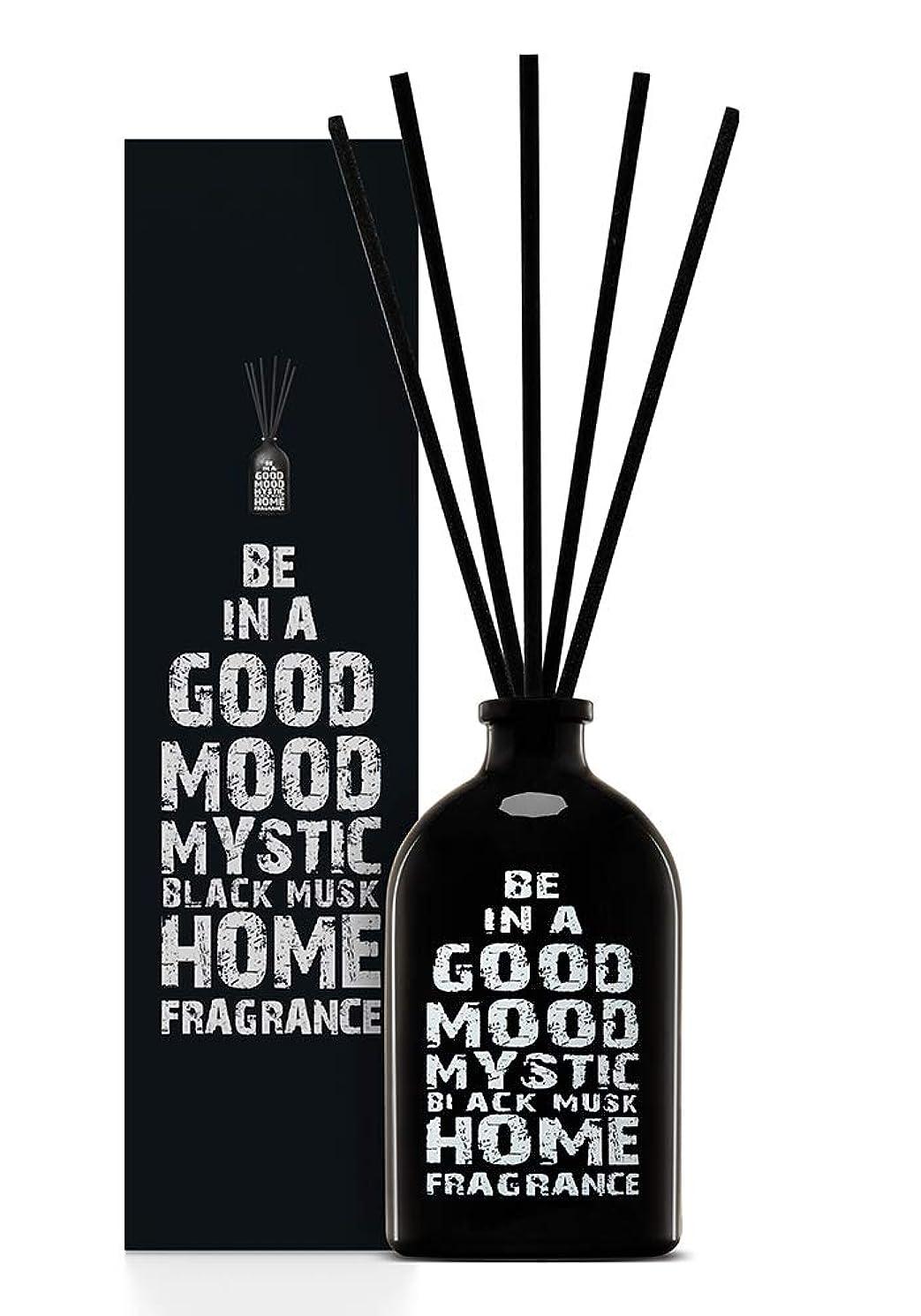嫌い寂しいオセアニアBE IN A GOOD MOOD ルームフレグランス スティック タイプ BLACK MUSKの香り (100ml)
