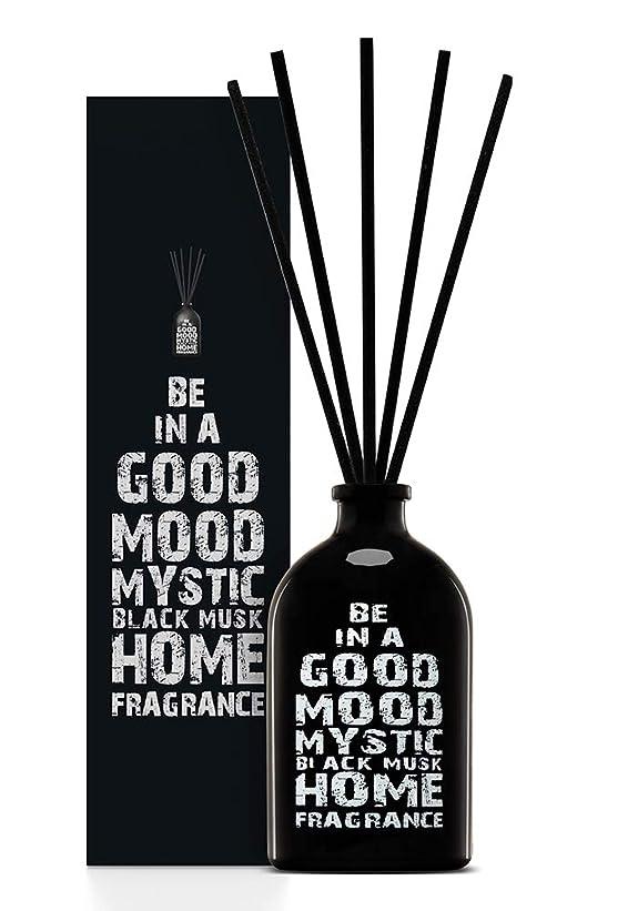 ビルマ比類なきソロBE IN A GOOD MOOD ルームフレグランス スティック タイプ BLACK MUSKの香り (100ml)
