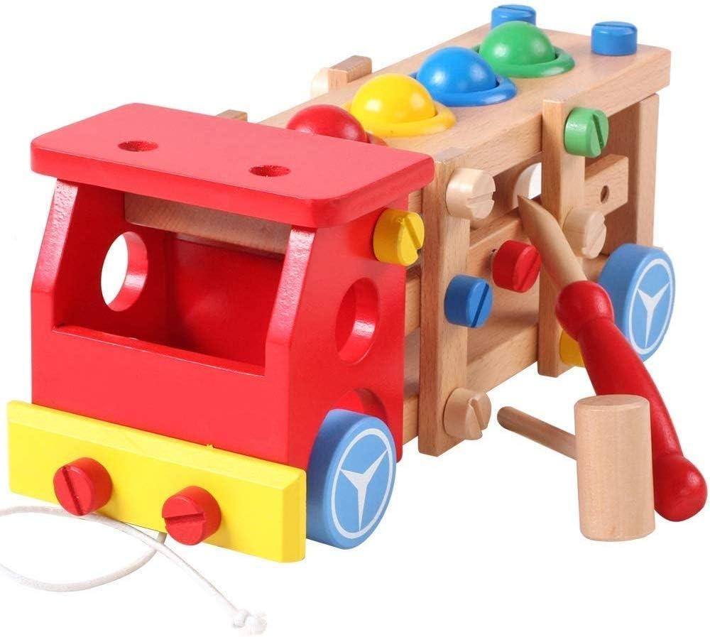 Ladan Preschool Educational Louisville-Jefferson Louisville-Jefferson County Mall County Mall Wooden Multi-Function Toy Car Fun