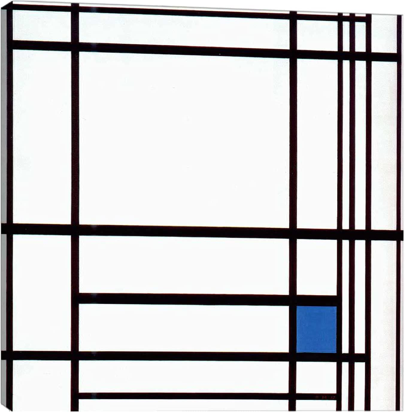 Piet Mondrian《composition with Arlington Mall blue》Abstract Sale special price Art Wall Canvas