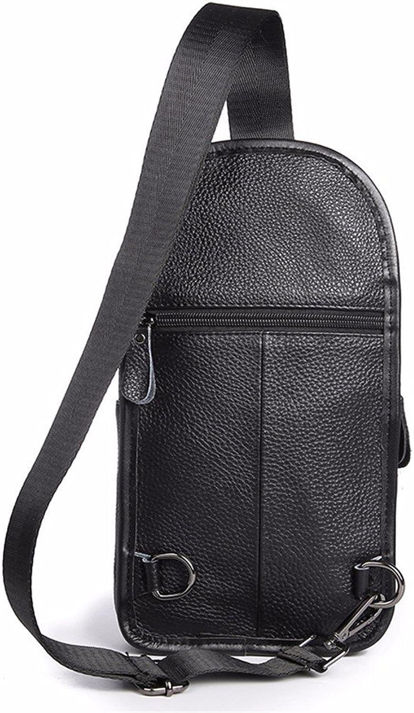 WanJiaherrenhop Men's Men's Men's Casual Bag Leder Brust Tasche Männer Bags, 16 x 6 x 30 cm B077BYBD36 | Online Store  d4f6ef