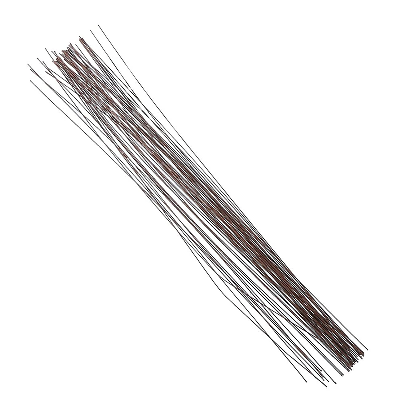 Decora 22 Gauge Brown Floral Wire 16 inch,50/Package