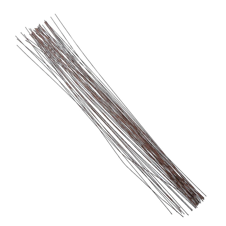Decora 22 Gauge Brown Floral Wire 16 inch,50/Package