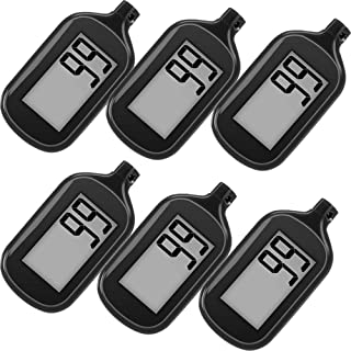 6 Pack Simple Step Counter Walking 3D Pedometer