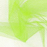 Falk Fabrics LLC 0332646 Nylon Netting Neon Yellow Fabric