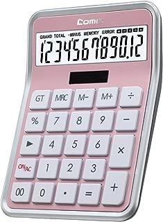 rose gold desk calculator