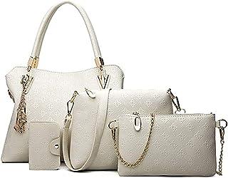 comprar comparacion Pahajim bolso de las señoras señoras de regalo set señoras personalidad bolsa de cosméticos 4 unidades set bolso de las se...