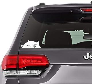 """برچسب خنده دار Bongo Cat Meme ، سپر ، لپ تاپ ، پنجره اتومبیل ، YETI Cup Decal 5 """"x2"""" [AM03]"""