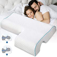 VUE Couples Pillow, Upgrade Arched Cuddle Pillow with Slow Rebound Memory Foam for Arm Rest, Anti Pressure Hand Pillow for...