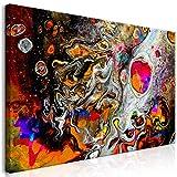 murando Cuadro en Lienzo Abstracto 120x60 cm 1 Parte Impresión en Material Tejido no...