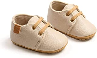 Soft Leather Baby Shoes, Neonatal Rubber Soft Leather Toddler Shoes, Toddler Shoes, Baby Non-Slip Front Toddler Shoes