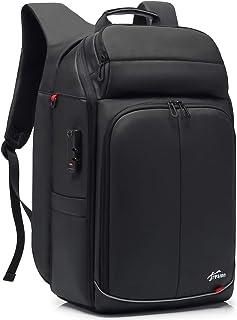Mupack Anti-vol Sac à Dos de Voyage avec Connecté USB - 40L Grand Sac à Dos Ordinateur Portable 15,6/17,3 Pouces Antivol S...