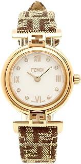 [フェンディ] 腕時計 レディース FENDI F275242DF ブラウン ローズゴールド ホワイトパール [並行輸入品]