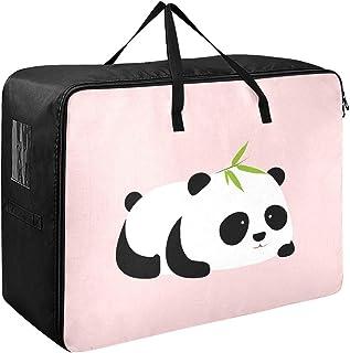 Enfants sous le lit jouet stockage mignon dessin animé géant panda hommes sacs à vêtements pour le stockage 70 x 50 x 28 c...