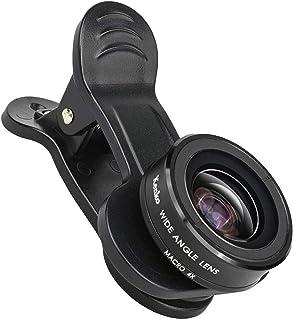 Kenko スマートフォン用交換レンズ 広く写す SNSマスター ワイドマクロ デュアルレンズ対応クリップ式 SNS-06wm