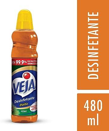 Desinfetante Pinho, Veja, 480 ml