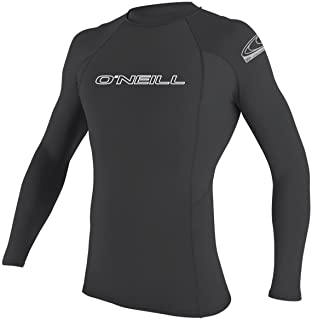 O'Neill Men's Basic Skins Long Sleeve Rashguard 3XL Graphite (3342IS)