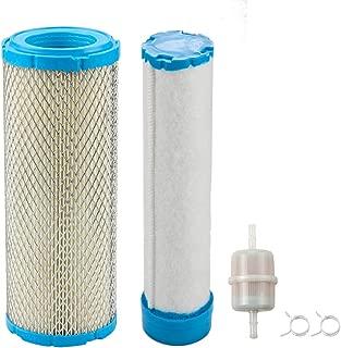 M131802 Air Filter w Fuel Filter for John Deere M144100 M164264 MIU12457 M131803 1420 1435 1445 1545 1565 990 997 1550 1570 1575 Lawn Mower