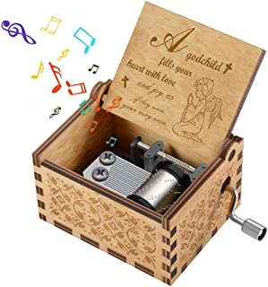 Best engraved wooden music box Reviews